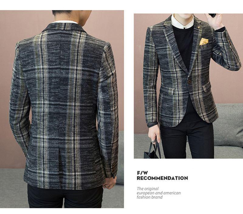 Mens Designer Blazers Jacket Suit (12)