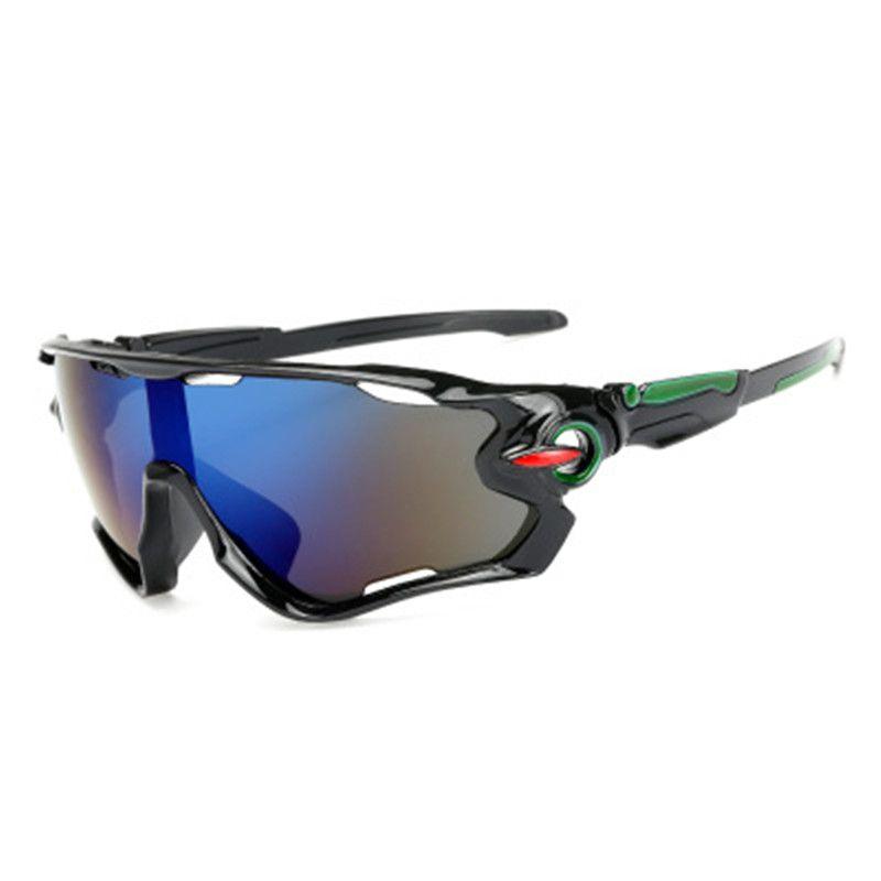 موضة جديدة للدراجات نظارات الرياضة نظارات شمسية للدراجات في الهواء الطلق الرجال النساء دراجة النظارات UV400 الدراجة نظارات 3 عدسة