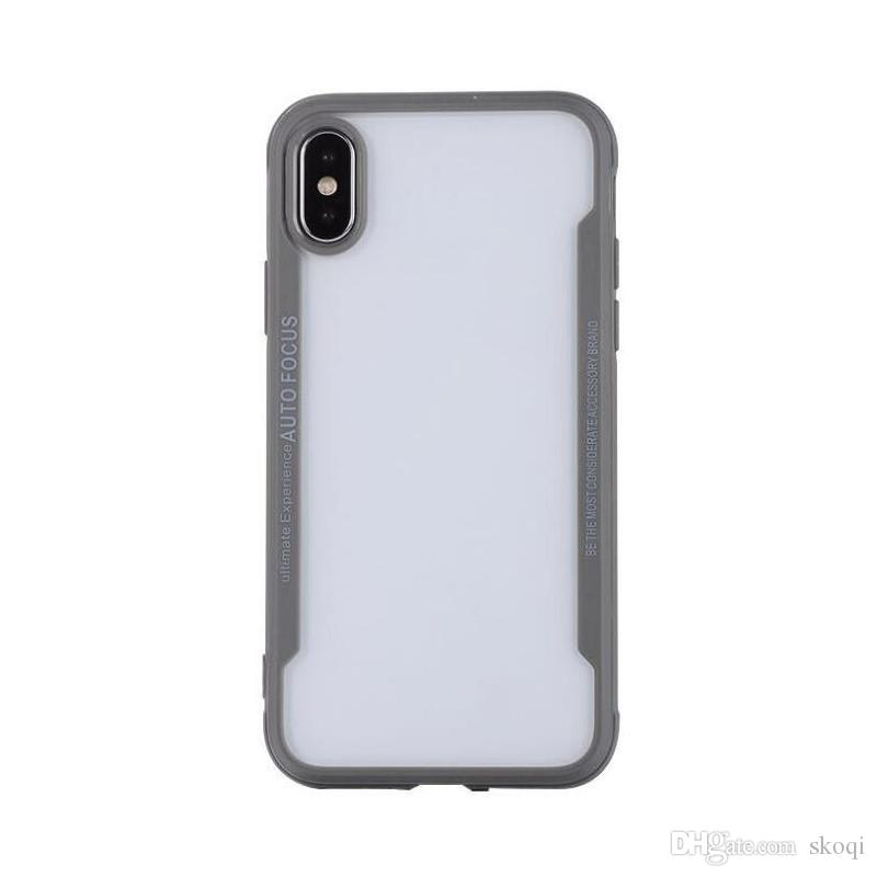2018 popular caliente más reciente llegada suave claro casos para iphone x 8 7 plus 6 s antichoque para galaxy note 8 s9 plus s8 diseño de cuna