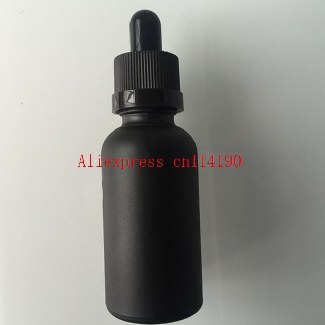 264 قطعة / الوحدة 30 مل زجاجة مع قطارة من الضروري النفط زجاجة زجاج العين بالقطارة 30ML بلوري الأسود