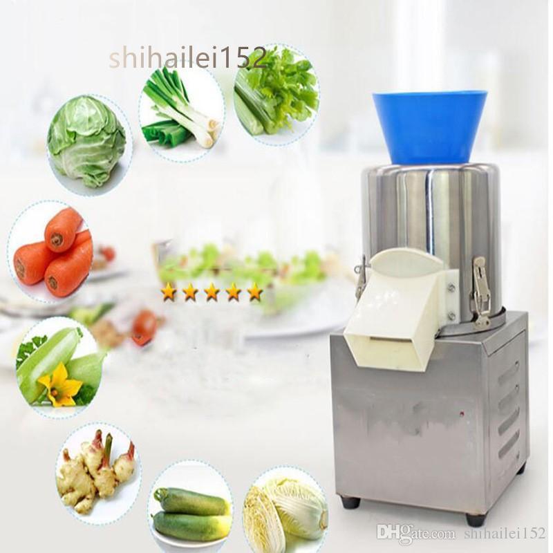 Frete grátis comercial elétrica máquina de corte vegetal máquina de enchimento de bolinho de massa vegetal máquina de corte de 160 corpo de aço inoxidável