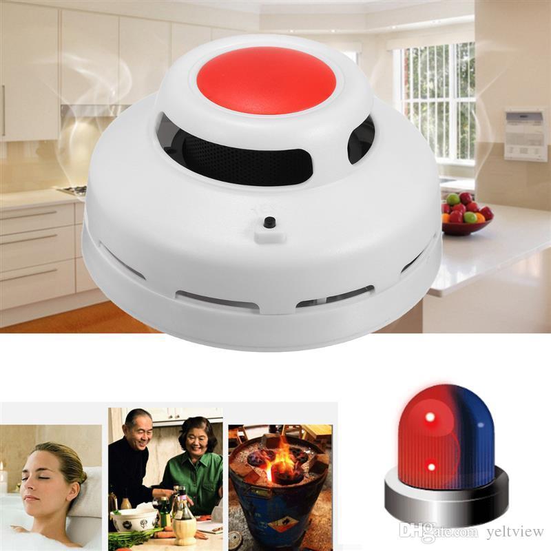 2 в 1 Сочетание окиси углерода и дыма сигнализации детектор CO детектор дыма домашней безопасности предупреждение сигнализации для офисного здания ресторан