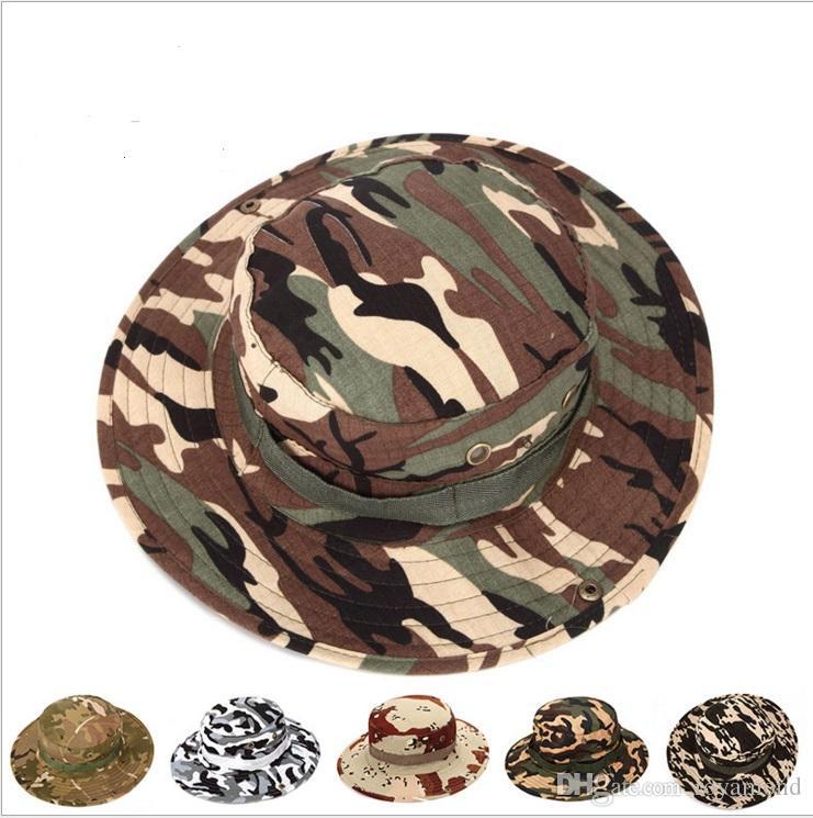 Sombrero de la selva del sombrero de camuflaje sombra del sol Benny sombrero al aire libre en 8704