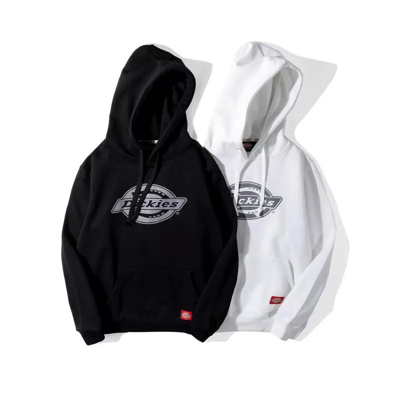 clearance prices good diversified in packaging 2019 Dickies Classic Hoodies Men Women Spring Autumn Winter Hoodies Cotton  Unisex Sweatshirts Tide Skateboard Tops Size S XXL Black White Grey From ...