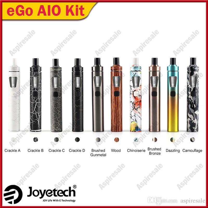Original Joyetech eGo AIO Vape Kit All-in-One Starter Kit w/ 2ml Atomizer & 1500mah Battery eGo aio e Cigarette Kit