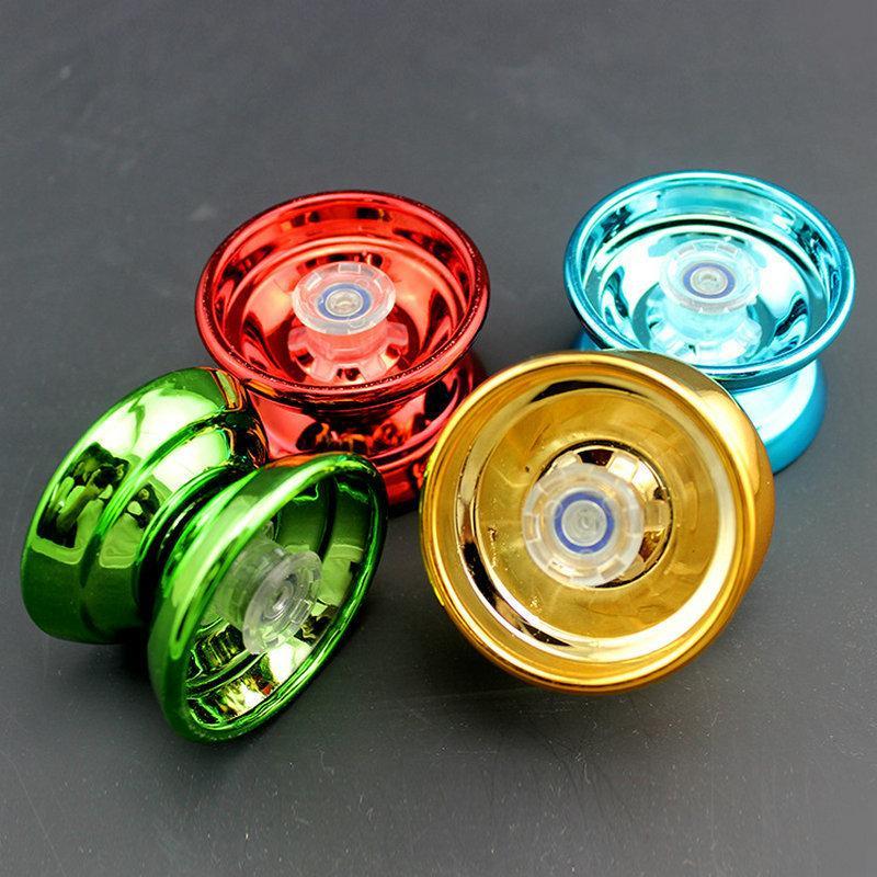 1PC New Alloy Speed YOYO Ball Trick Yo-Yo Clutch Popular Mechanism String Bearing Fun Professional Kid Toy Gift Color Random