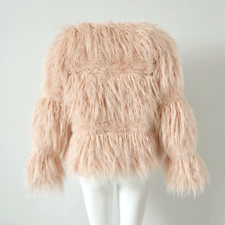 Großhandel Rosa Mantel 2017 Pelzjacke Weibliche Plüsch Von Frauen Winter Warme Tumblr Größe Dicke Z04a Mode Outwear Schwarz Plus 3xl Faux Pelzmantel ybf76gY