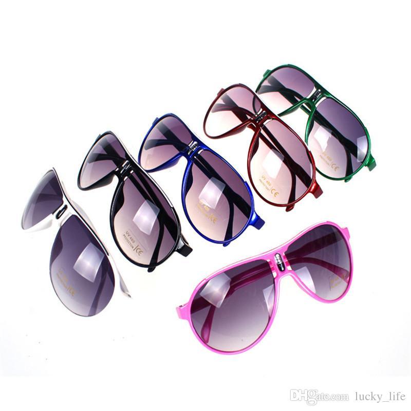 30 adet Çocuk Güneş Gözlüğü Bebek Erkek Kız Moda Marka Tasarımcısı Güneş Çocuklar Çocuklar Için Güneş Gözlükleri Plaj Oyuncaklar Güneş Gözlüğü Güneş Gözlükleri
