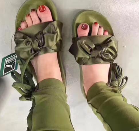 zapatillas puma de mujer rihanna