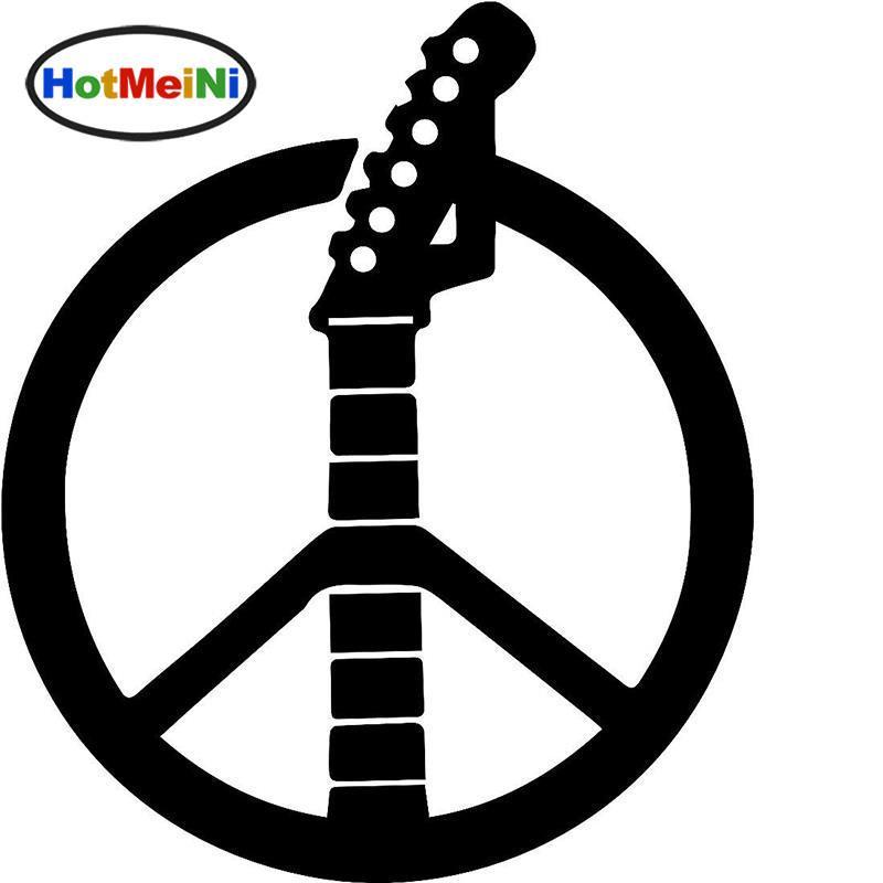 Silver Online Design Peace Sign Car Window Sticker Decal Cnd