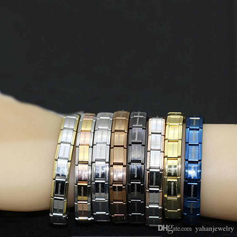 Free Shipping yahan nomination jewelry popular style stainless steel bracelet letter and stretch fashion bangle for everybody use jewelry