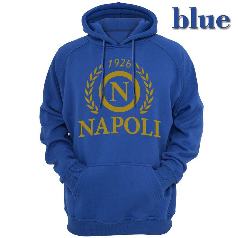 Acquista Classic Italia Napoli Uomo Felpe Felpe Casual Apparel SSC Napoli FC Club Felpa Con Cappuccio Primavera Autunno Stagione Abbigliamento 1 A ...