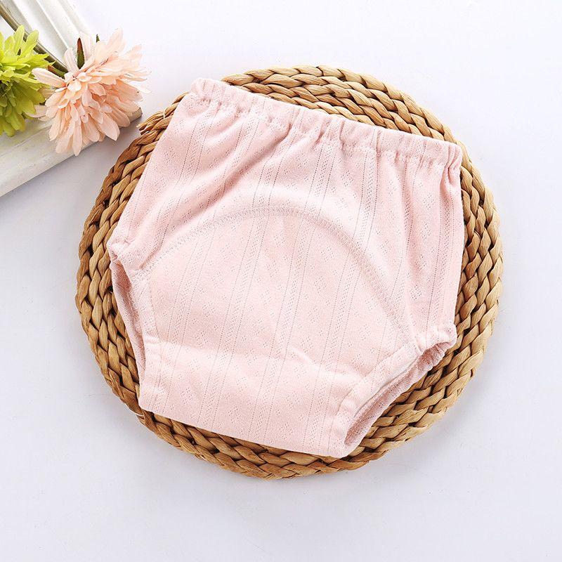 2 PCS Coton Bébé Potty Training Pantalon Garçon Fille Couches En Tissu Réutilisables Couches Étanches Pour Tout-petit Enfants Nouveau-Né Lavable