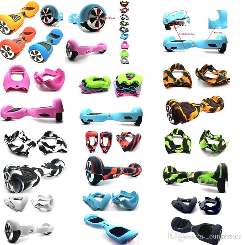 Full Package Wheel Case Smart Cover Balance Car Silicone Anti Wear Fashion Creative Soft Colorful Protective Sleeve 17dh jj