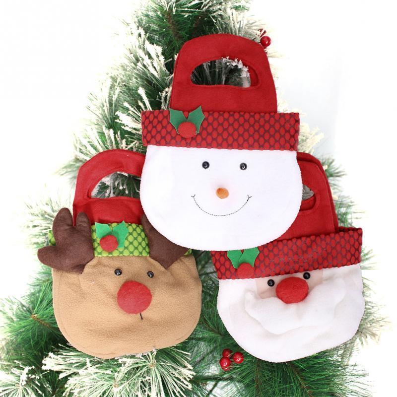 Saco De Doces Saco De Doces Do Presente Da Árvore De Natal Das Crianças Feliz Natal Decoração Para Casa