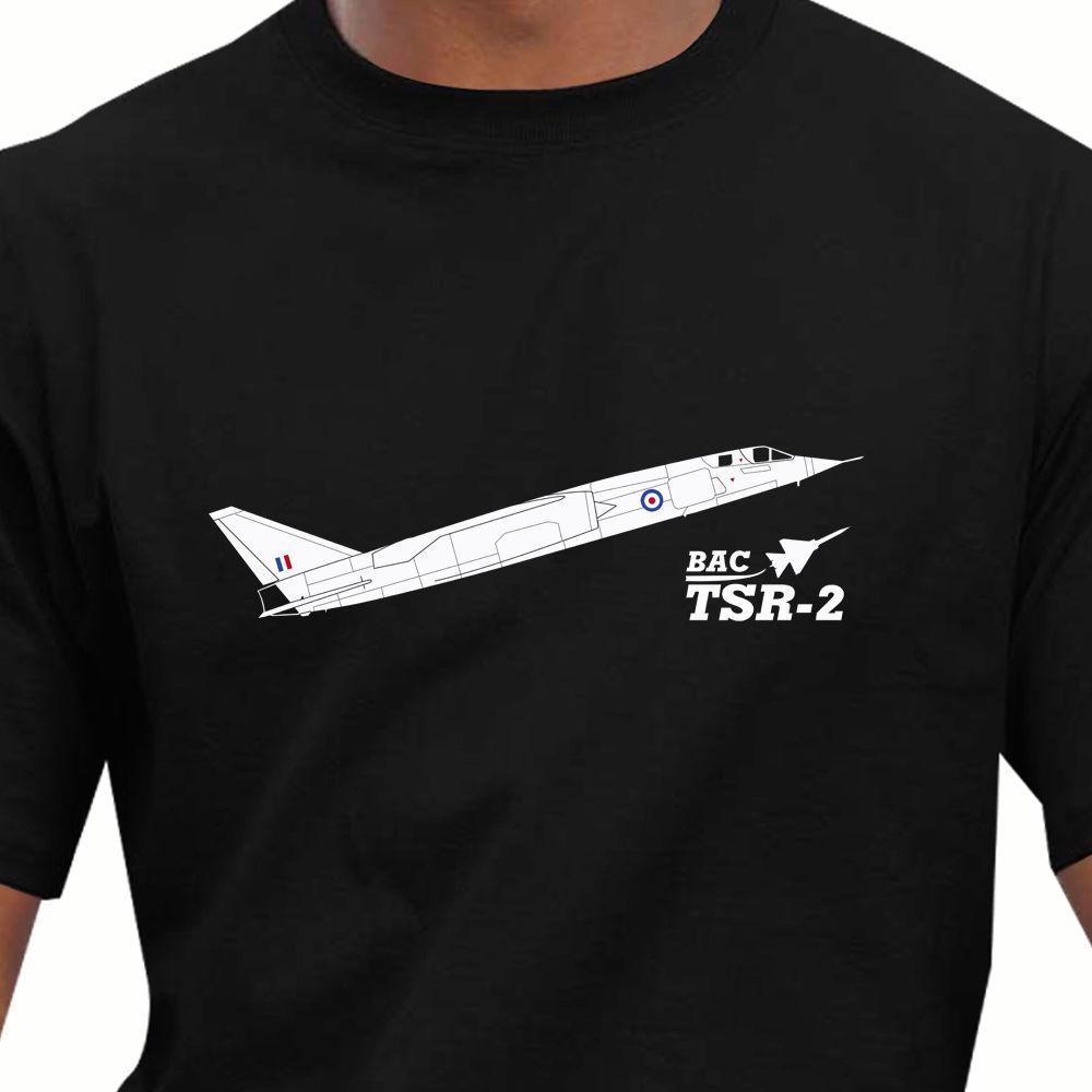 2018 أحدث طراز العلامة التجارية قصيرة الأكمام ايرو كلاسيك باك Tsr - 2 Aircraf قصيرة الأكمام جديد أزياء تي شيرت ملابس رجالية