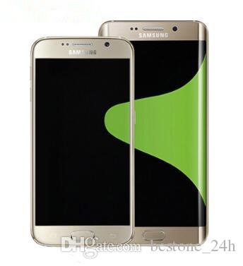 Original desbloqueado samsung galaxy s6 g920f g920v g920a octa core 3 gb 32 gb rom lte 16mp 5.1 polegada android remodelado telefone