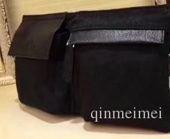 Sacos de bolso de cintura marca preta Homens mulheres marca clássico lona marrom bolso da cintura sacos de marca Designer homens cruzam corpo