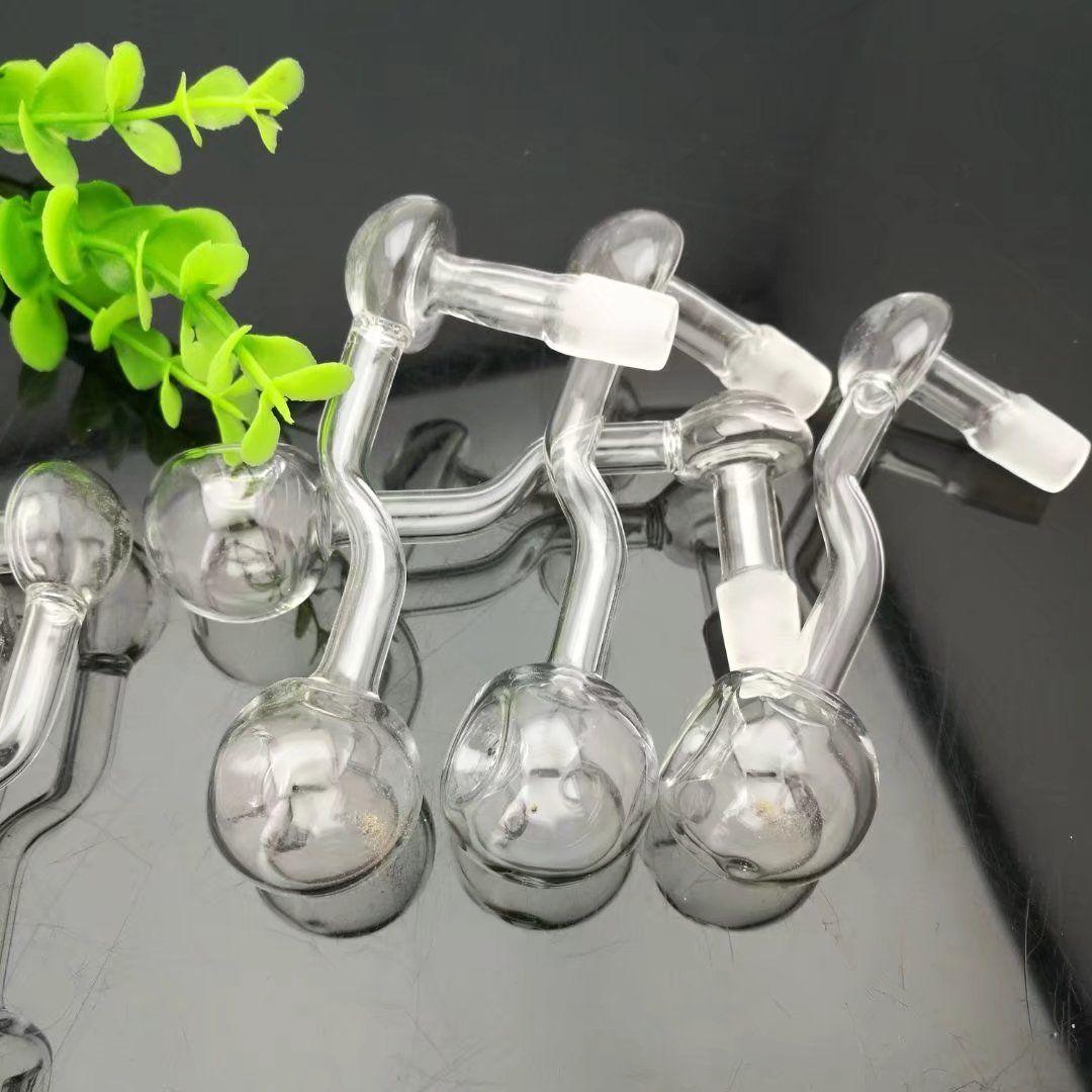 Champignons concaves Guo Gros bongs en verre Brûleur à mazout Tuyaux en verre Pipe à eau Rigs d'huile, Huile.