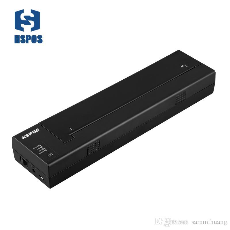 종이 구조를 설치하고 작동하기 쉬운 고품질 a4 크기의 Bluetooth 휴대용 열전 사 프린터