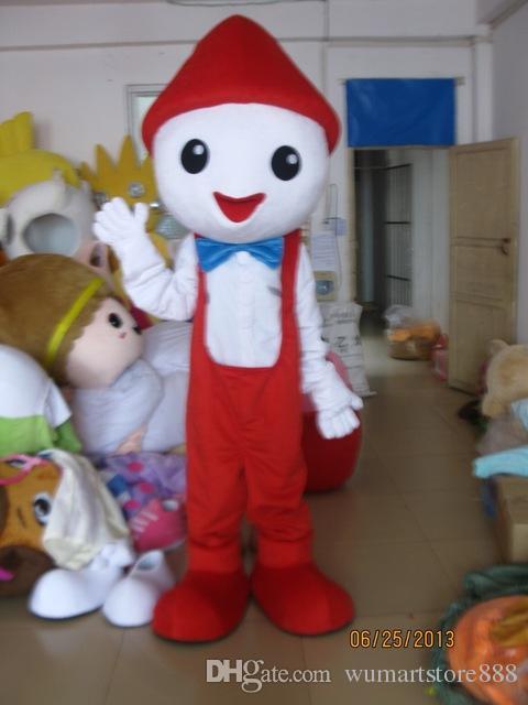 Noel kardan adam Maskot Kostümleri Animasyonlu tema Noel elf boy Cospaly Karikatür maskot Karakter Cadılar Bayramı Karnaval parti Kostüm