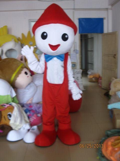 Noël bonhomme de neige Costumes De Mascotte Animation thème Noël elfe garçon Cospaly Cartoon mascotte Caractère Halloween Carnaval costume