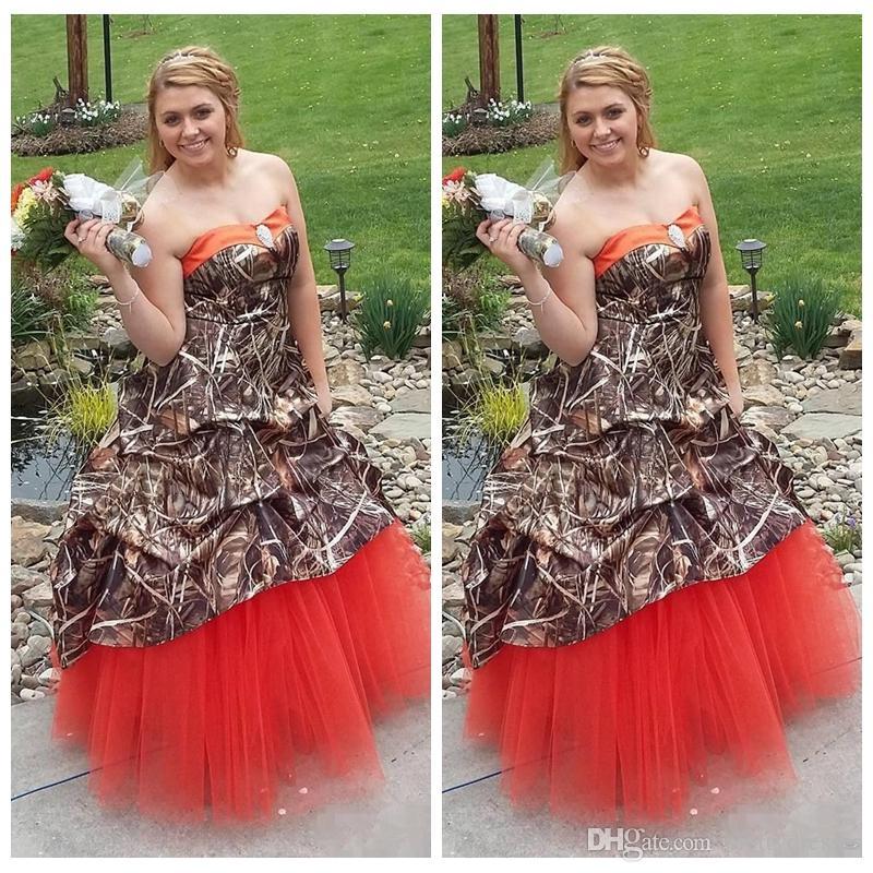 Plus Size Bulrush Reed Camo A-Linie Brautkleider Satin Drped Brautkleider Lace up zurück Land Hochzeit tragen Gewohnheit