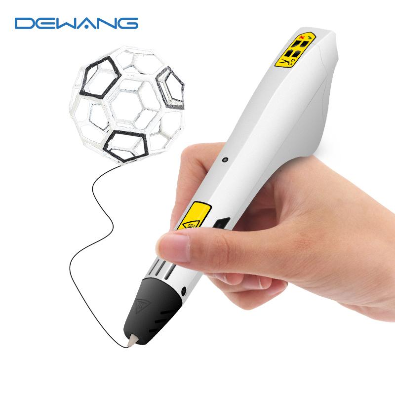 2018 Hot Original 3d Printing Pen Scribble Pen Abs Pla 100m Filament Cheaper 3d Drawing Pen For Kids Arts And Craft Birthday Gift The Micro M3d M3d