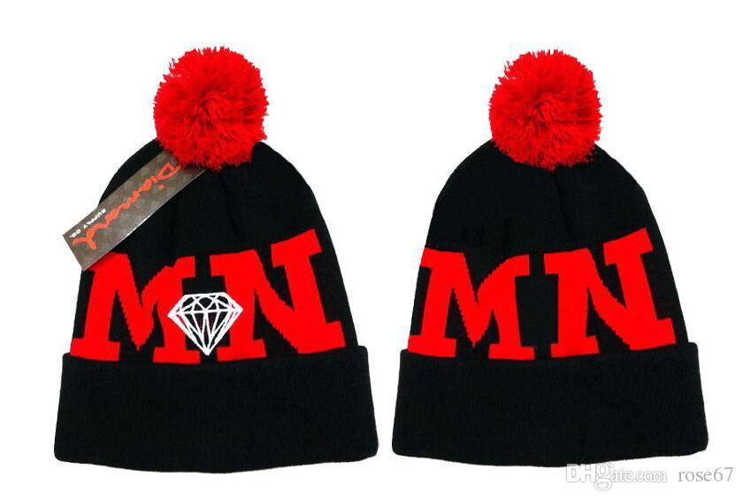 Top Selling beanies Knitted Hat Designer NY Sports team Winter Warm Thick Beanie Fedora gorro Bonnet Skull Hats for Men women Crochet Skiing