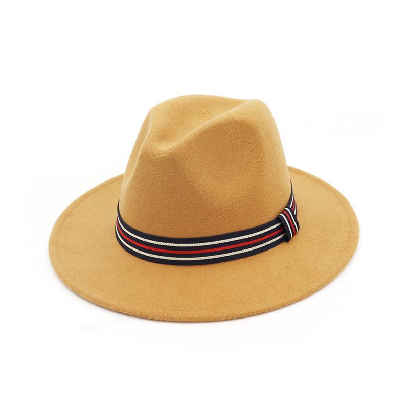 IUSGAND Hommes///pour Femmes Chapeaux de Printemps Noir Jazz Caps Wide Brim Gentleman /él/égant Lady Vintage Hat
