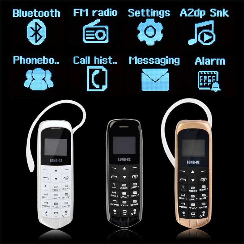 LONG-CZ J8 إفتح البسيطة الهاتف المحمول بلوتوث المسجل سماعة 0.66 بوصة وشاشة دعم بطاقة SIM MP3 الرسائل القصيرة منخفضة الإشعاع الهواتف المحمولة
