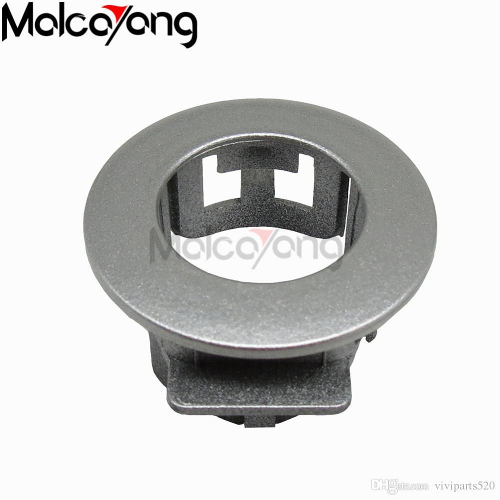 4 peças bilver cor 89348-28100-b0 ultrasonic sensor de estacionamento retentor para 06-12 TOYOTA HYBRID AHR20 assistente de estacionamento suporte do sensor do carro