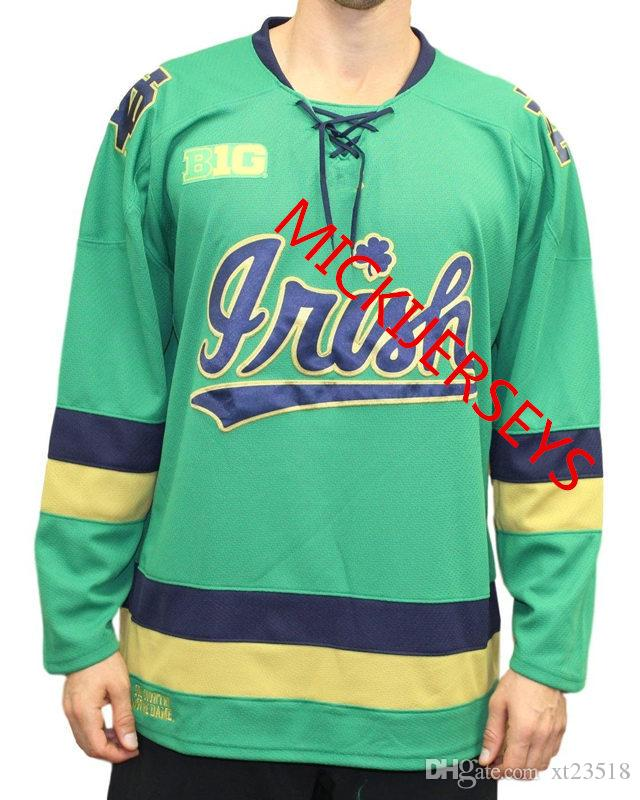 2023c6544 2019 Mens Custom Notre Dame Hockey Jersey Cal Burke Andrew Peeke Dylan  Malmquist Bobby Nardella Jack Jenkins Cale Morris Notre Dame Jersey S 3XL  From ...