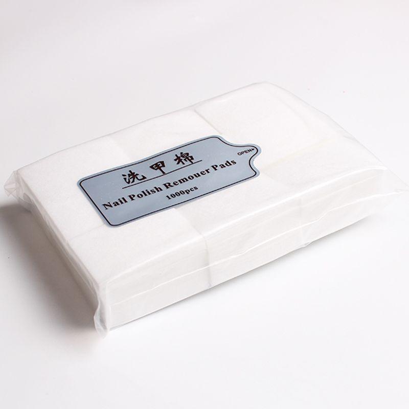 900pcs / pack lingettes manucure dissolvant polonais papier sans peluche nettoyage coton tampons ongles autocollant décalcomanie astuces art acrylique outils de dissolvant de gel