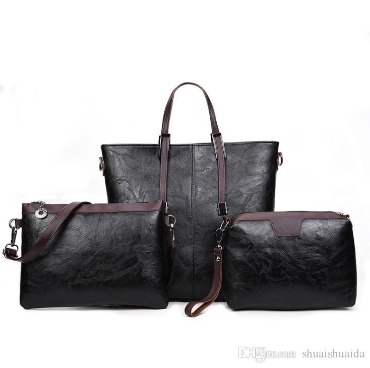 2018 повседневная мода женщина сумка Сумочка Леди сумка большой Totte сумка сумки на ремне высокое качество PU материал ALY-6002