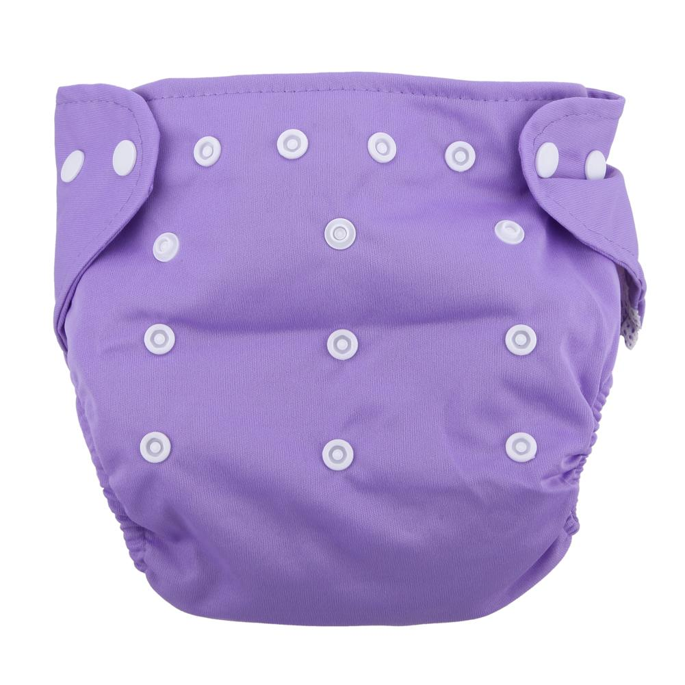 1Pc Reusable Adjustable Infant Diapers Unisex Baby Washable Grid Soft Cover Nappy Cloth Summer Breathable Nappies High Quality