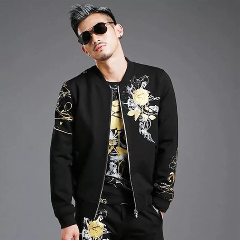 Moda delgada capa bombardero chaqueta 2018 hombres abrigo chaquetas hombres streetwear chaqueta chaqueta de hombre