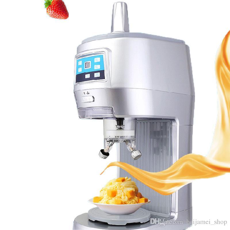 Beijamei Nouvelle Arrivée Commerciale Rasoir À Glace Rasage machine Flocon De Neige Maker Glace Électrique Machine De Broyeur À Glace Pour Vente