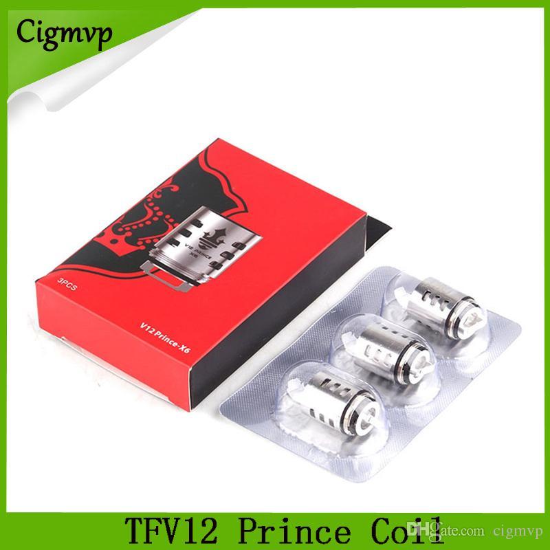 TFV12 Prince Cloud Beast Bobina di ricambio Mesh Strip V12 Q4 X6 T10 M4 Bobine Massive Vape Vape Core Tank Free DHL 0266173-1