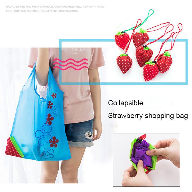 DINIWELL Nuova borsa da donna pieghevole pieghevole per borse da donna pieghevole in poliestere riutilizzabile 11 colori