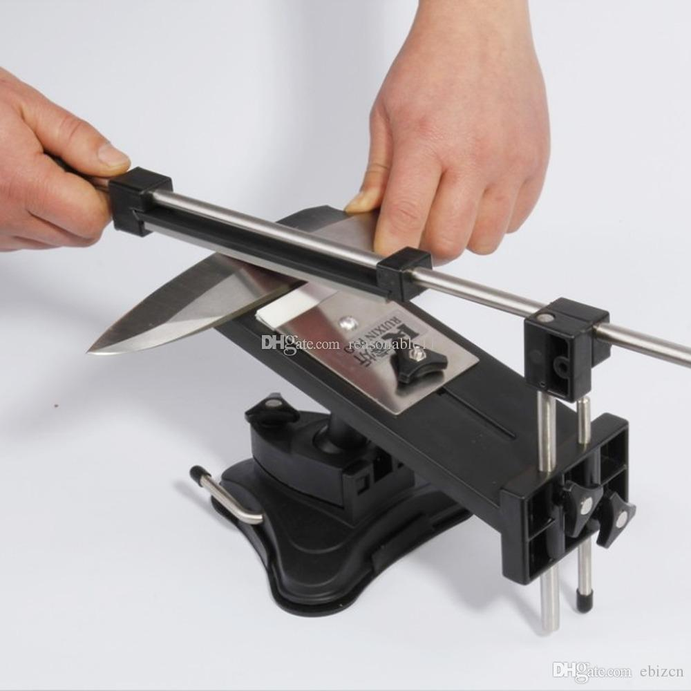 Sharpeners Date Apex Edge Pro Système Fix-angle 4 Pierres Ruixin Conception Pour Russe Itell Livraison Rapide Wicked Sharpener