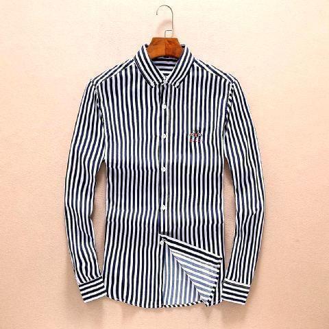 2018 أحدث الرجال القطن الكتان كم طويل القميص النمط الكلاسيكي ملابس عادية الأعمال صالح القمم