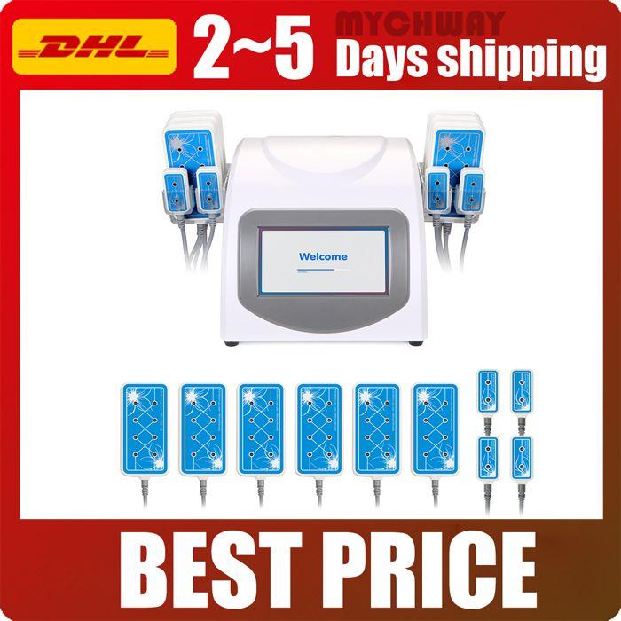 2018 Heißer Verkauf 635nm-650nm Lipo Laser Cellulite Entfernung LLLT Körper Abnehmen Fettverlust Salon Schönheit Maschine