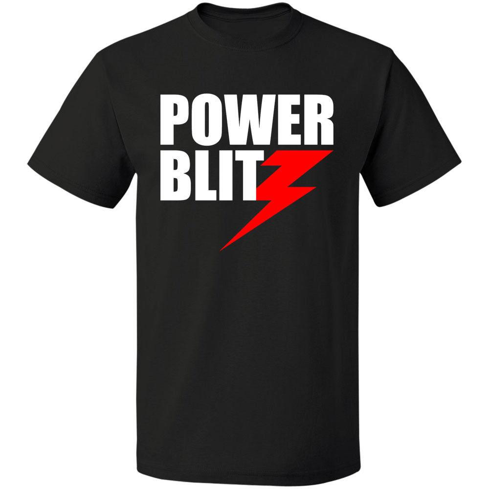 Blitz Power T-shirt Size S - 3xl Free Shipping 2018 Hot Sale New Men's T Shirt Colour Funny Printed Cool O - Neck Tops