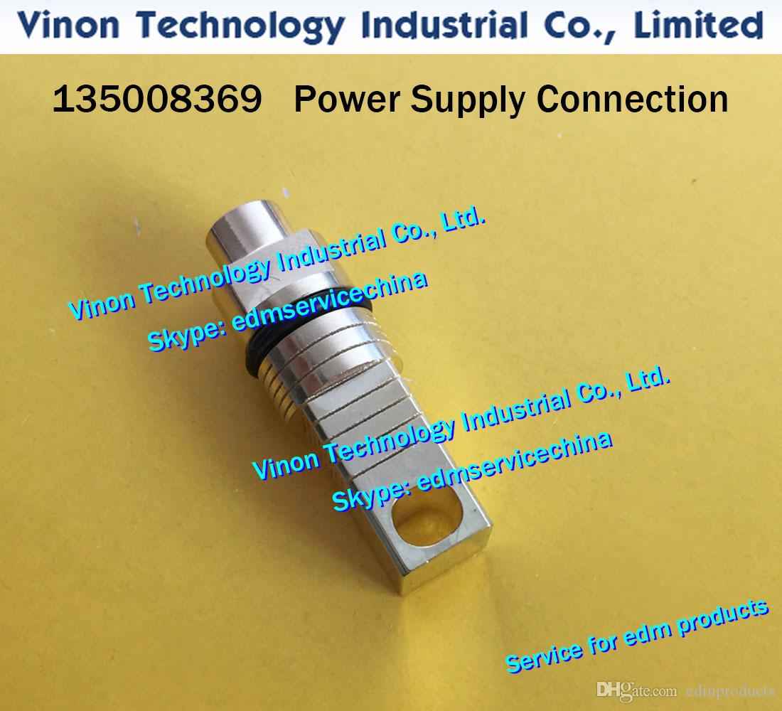 (1pc) 135008369 edm Power Supply Connection for ROBOFIL 290,300,310,500,510 CNC WIRE CUT EDM PARTS 135.008.369 Current supply contact unit