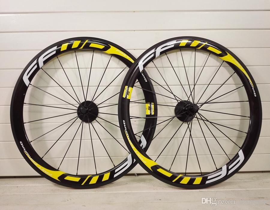 2018 new T1000 3K UD 700C 50mm FFWD F5R carbon road wheels racing bike wheelset bicycle taiwan made
