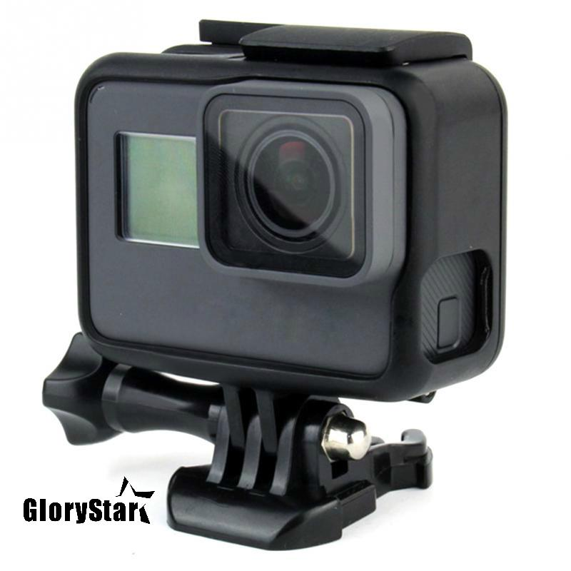 GloryStar For GoPro Accessories GoPro Hero 5 Protective Frame Case Camcorder Housing Case For GoPro Hero5 Black Action Camera