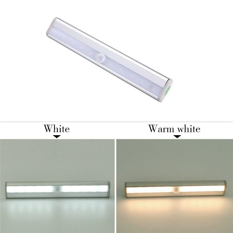 LED Ampuller IR Kızılötesi Hareket Dedektörü Sensörü Dolap Dolap Dolap Acil Işık Lambası Kablosuz Kuru pil CE, RoHS Belgeli ışıkları
