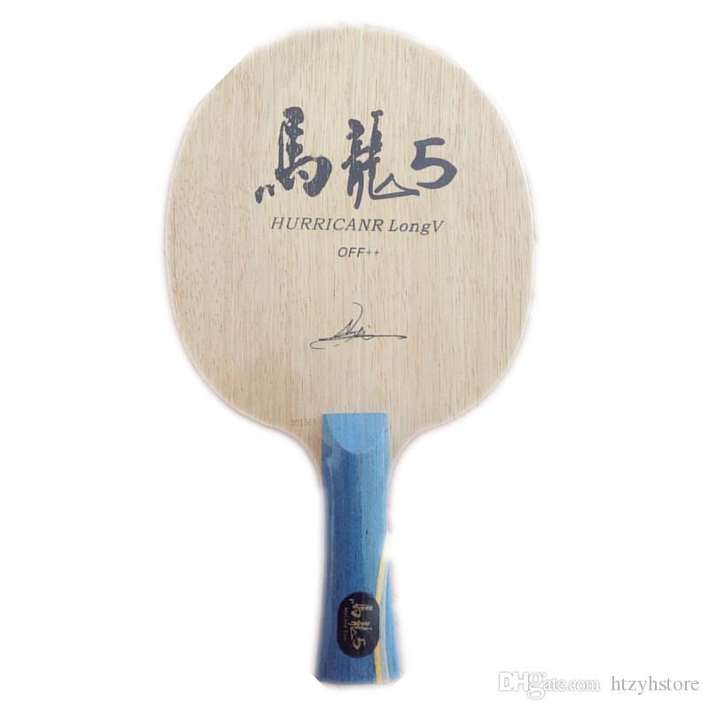 Wholesale- Hurricane Long Table Tennis Blade table tennis racket pingpong racket FL finished table tennis bats long handle shakehand racket