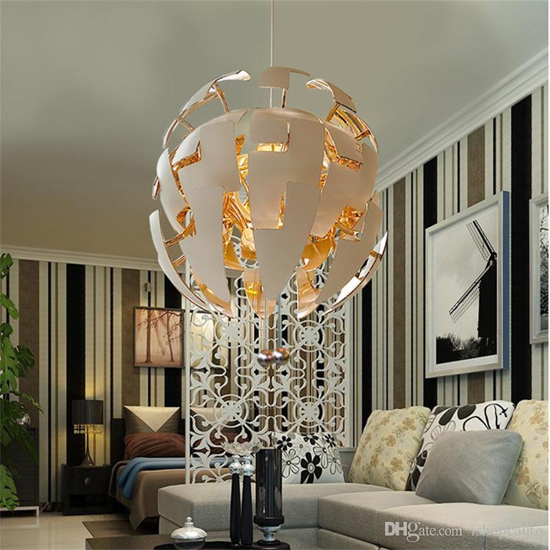 Новая творческая деформация подвесной светильник ресторан Гостиная Спальня Кабинет кафе искусство деформации мяч свет